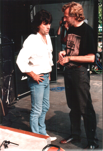 Backstage with Hammer 1992