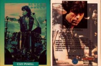 Cozy Powell Trading Card