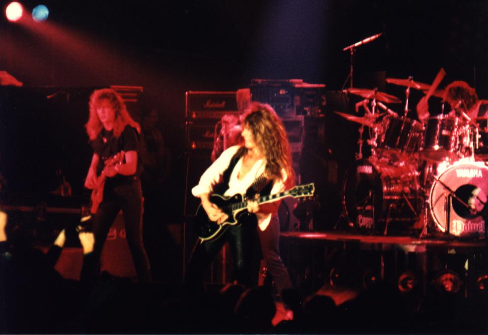 Whitesnake Live 1984 #4 | The Official Cozy Powell Website