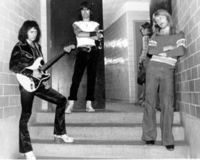 Rainbow Backstage 1978