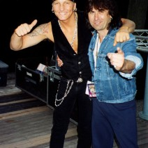 With Matt Sorum